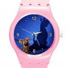 Scooby-Doo Scoob! Movie ICE Style Round TPU Medium Sports Watch-Pink