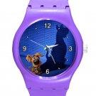 Scooby-Doo Scoob! Movie ICE Style Round TPU Medium Sports Watch-Purple