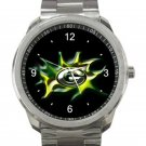 Green Bay Packers Logo Unisex Sport Metal Watch