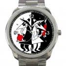 Spy Vs Spy Unisex Sport Metal Watch