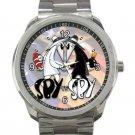 Funny Spy Vs Spy Unisex Sport Metal Watch