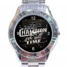 Hudson Hornet Champion For All Unisex Stainless Steel Analogue Watch