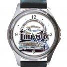 Chevrolet Impala Logo Unisex Round Silver Metal Watch