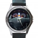 2011 Honda Cr-V AWD LX Steering Wheel Unisex Round Silver Metal Watch