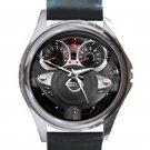 2013 Nissan JUKE Steering Wheel Unisex Round Silver Metal Watch