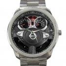 2013 Nissan JUKE Steering Wheel Unisex Sport Metal Watch