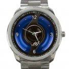 BMW Blue Halo Fuel Cap Unisex Sport Metal Watch