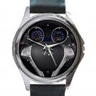 Hyundai Genesis Coupe 2.0T Steering Wheel Unisex Silver Round Metal Watch