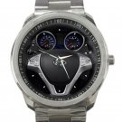 Hyundai Genesis Coupe 2.0T Steering Wheel Unisex Sport Metal Watch
