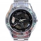 Nissan Skyline GT-R Car Tyre Unisex Stainless Steel Analogue Watch