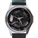 Nissan Skyline GT-R Car Tyre Unisex Silver Round Metal Watch