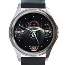 Renault Megane R.S. 280 Cup Steering Wheel Unisex Silver Round Metal Watch