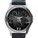 2012 Jaguar XF Steering Wheel Unisex Silver Round Metal Watch