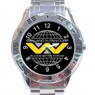 2012 Prometheus Movie Weyland Corp Yutani Logo 1 Unisex Stainless Steel Analogue Watch