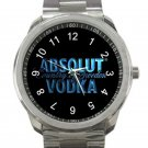 New Absolut Vodka Logo Unisex Sport Metal Watch