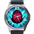 Air Gear Kogarasumaru Anime Logo Unisex Round Metal Watch