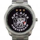 AFC Ajax Amsterdam Football Club Logo Unisex Sport Metal Watch
