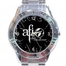 AFI Sing the Sorrow Logo Unisex Stainless Steel Analogue Watch