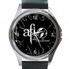 AFI Sing the Sorrow Logo Unisex Round Metal Watch