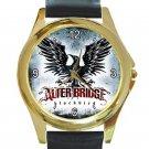 Alter Bridge Blackbird Logo Unisex Round Gold Metal Watch