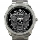 Amon Amarth Skull and Axes Unisex Sport Metal Watch