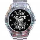 Amon Amarth Heavy Metal Viking Logo Unisex Stainless Steel Analogue Watch