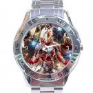 Ultraman Unisex Stainless Steel Analogue Watch
