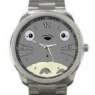 Cute Totoro's Face Unisex Sport Metal Watch
