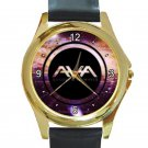 Angels & Airwaves Galaxy Logo Unisex Round Gold Metal Watch