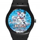 102 Dalmatians Puppies To The Rescue ICE Style Round TPU Medium Sports Watch-Black