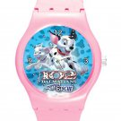 102 Dalmatians Puppies To The Rescue ICE Style Round TPU Medium Sports Watch-Pink