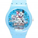 102 Dalmatians Puppies To The Rescue ICE Style Round TPU Medium Sports Watch-Blue