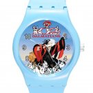 102 Dalmatians Cruella De Vil ICE Style Round TPU Medium Sports Watch-Blue