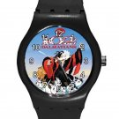 102 Dalmatians Cruella De Vil ICE Style Round TPU Medium Sports Watch-Black