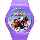 102 Dalmatians Cruella De Vil ICE Style Round TPU Medium Sports Watch-Purple
