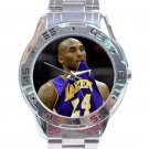 Kobe Bryant Lakers Purple Jersey No. 24 Unisex Stainless Steel Analogue Watch
