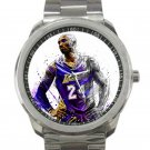 Kobe Bryant Art Portrait Unisex Sport Metal Watch