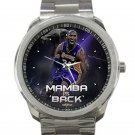 Kobe Bryant Mamba Is Back Unisex Sport Metal Watch