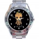 Guardians of the Galaxy Groot Unisex Analogue Watch Unisex Stainless Steel Analogue Watch