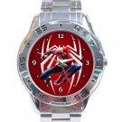 Amazing Spider-Man Movie Logo Unisex Stainless Steel Analogue Watch