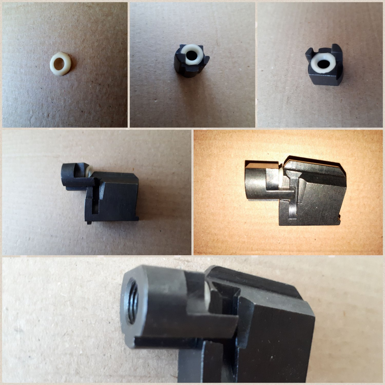 mp-654k barrel sealing gasket baikal high-quality solid polyurethane for upgrade.