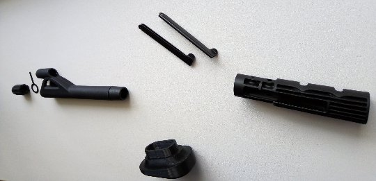 mp-61 rod connecting tuning parts baikal for upgrade an increased level of comfort during operation.