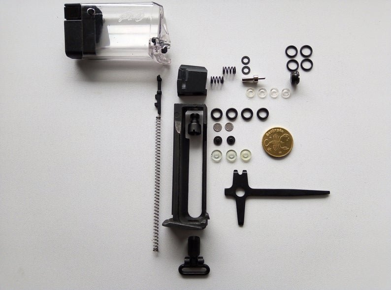 Magazine mp-654k spare parts gen 1-4 and 5 with number T 15, T 16 for wide frame, set made on order.
