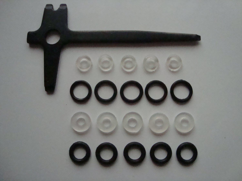 mp-654k, mp-661k drozd, blackbird screwdriver key, o-ring, valve, saddle, air-bulb parts seal Baikal