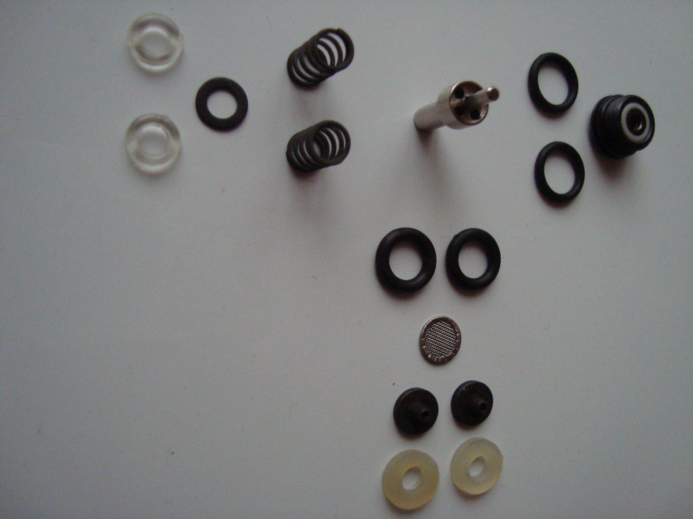 MP-654K, MP-661K drozd, blackbird valve, saddle, o-rings, needle, filter, springs, repair kit baikal