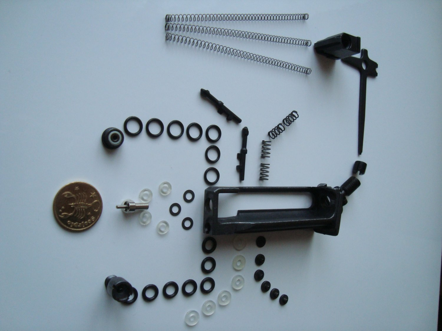 MP-654K magazine valve, saddle, o-rings, repair set upgrade baikal for gen 1-4 and 5 with wide frame