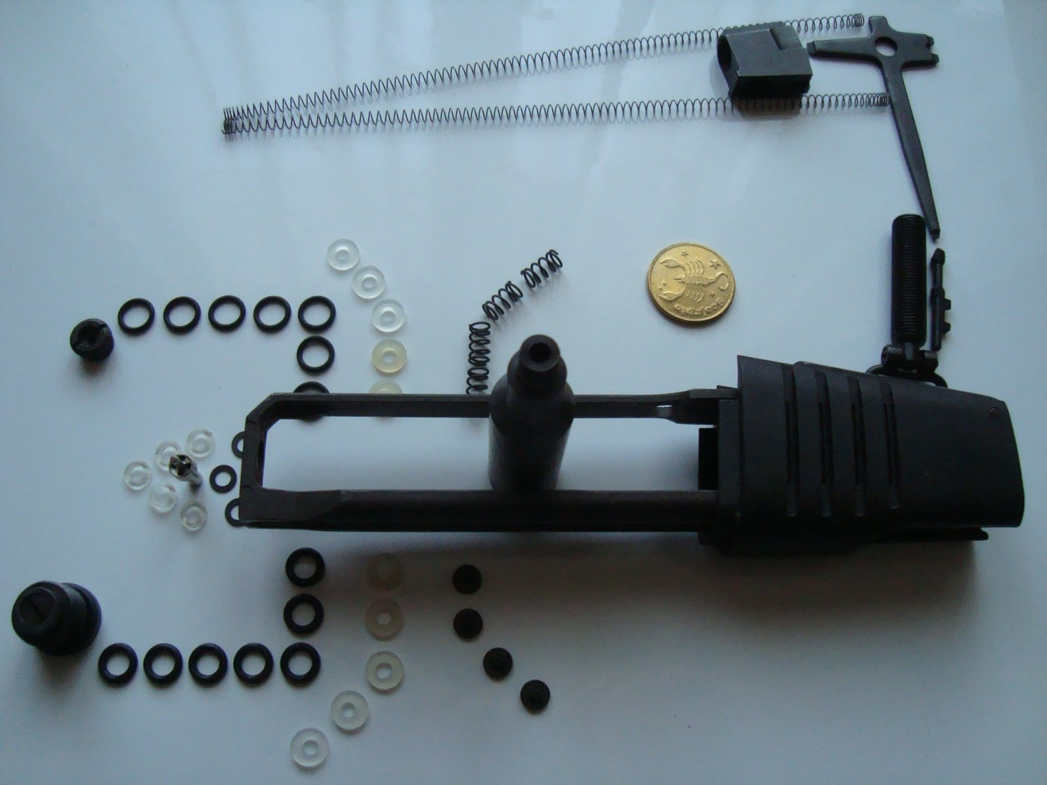 mp-661k magazine seals o-rings, air-bulb, saddle, valve, needle lamp, repair parts for tuning Baikal