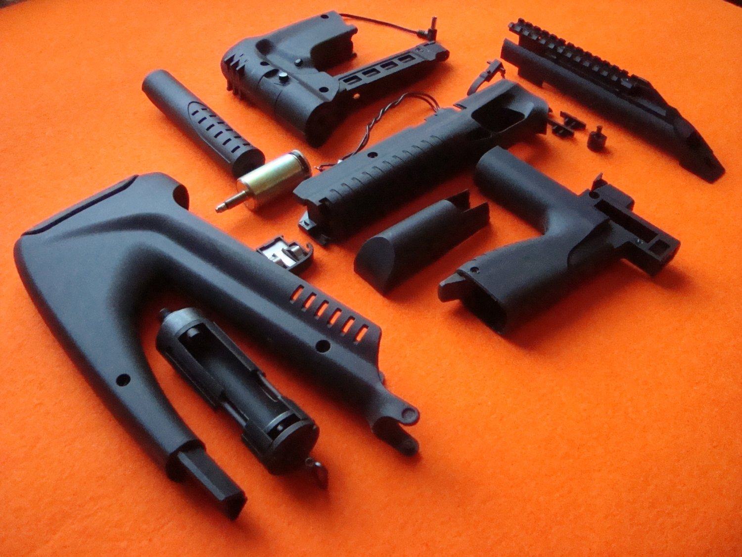 Repair kit MP-661K Blackbird, conversion with upgraded magazine parts for tuning, set made to order.