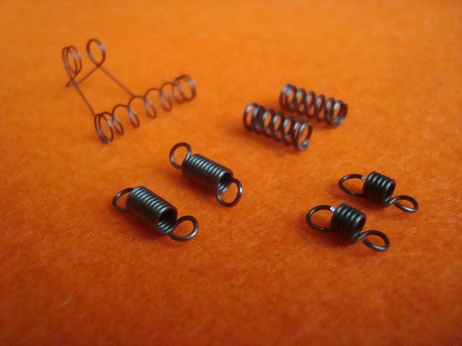 Spring parts MP-46M, IZH-46, mp-46 in repair kit for tuning spare details, upgrade set made to order