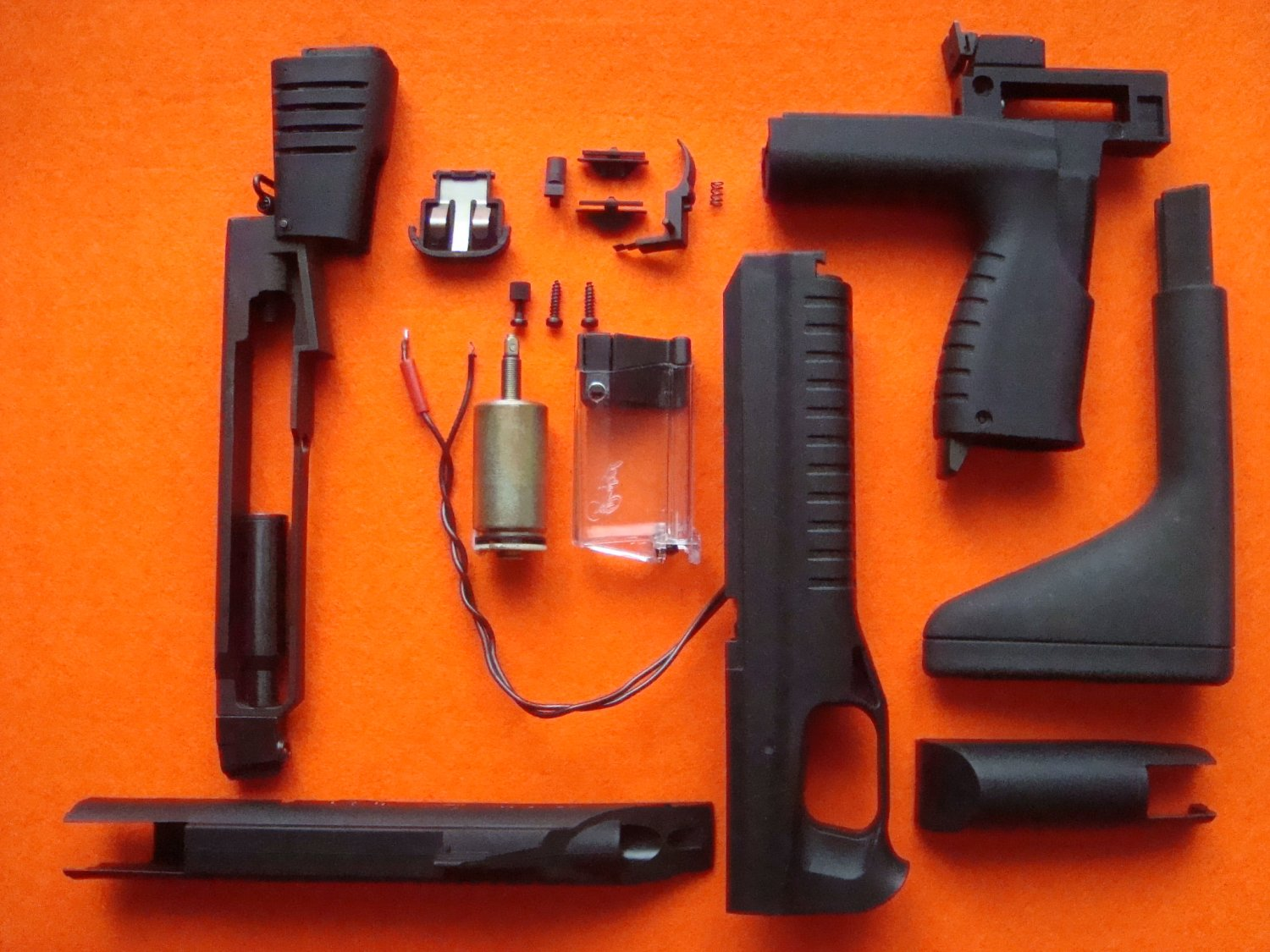 MP-661K Drozd repair set with updated magazine, tuned parts for power upgrade, details made to order